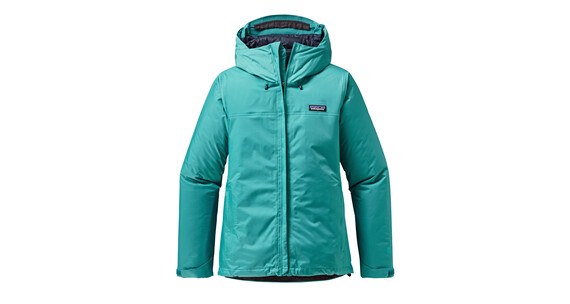 Patagonia Insulated Torrentshell Jas Dames turquoise